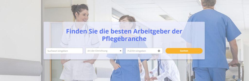 Finden Sie die besten Arbeitgeber in der Pflegebranche